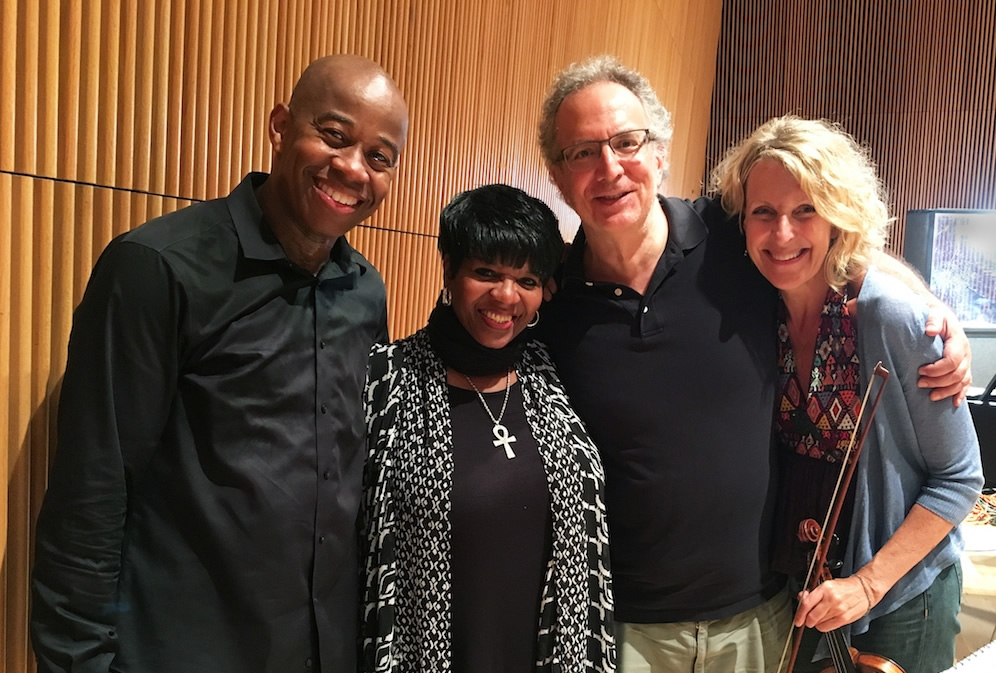 André Raphel with Barbara Walker, Uri Caine and Joyce